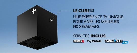 Le décodeur Cube S de Canal+ / Canalsat