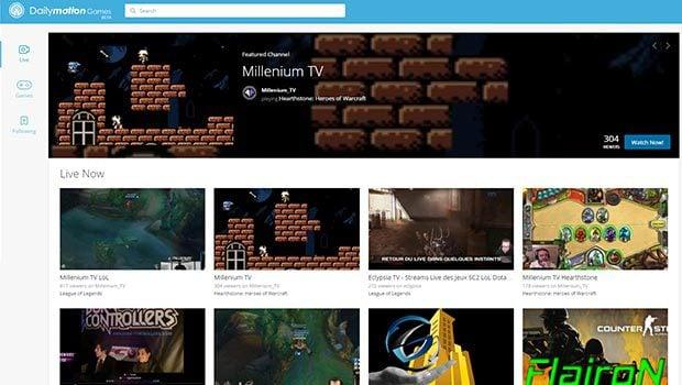 Des options pour rechercher rapidement les vidéos sur un jeu, un événement...