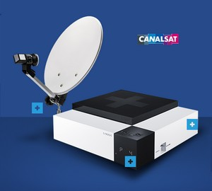 Le Cube Satellite de Canalsat