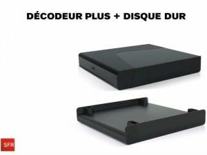 Décodeur plus SFR : un disque dur de 500 Go