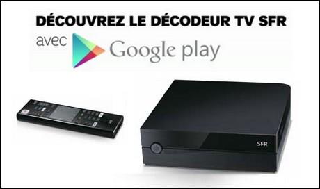 Décodeur TV SFR Android