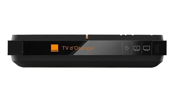 L'écran OLED du décodeur TV 4 UHD