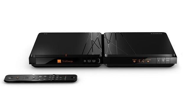 Livebox 4 et décodeur TV 4