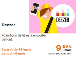 deezer orange