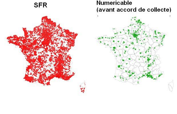 Carte de dégroupage SFR et Numericable