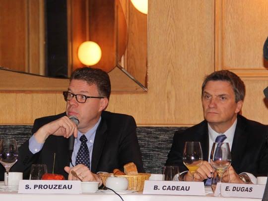 Stéphane Prouzeau, Président d'Agenda France et Bernard Cadeau, Président du Groupe ORPI