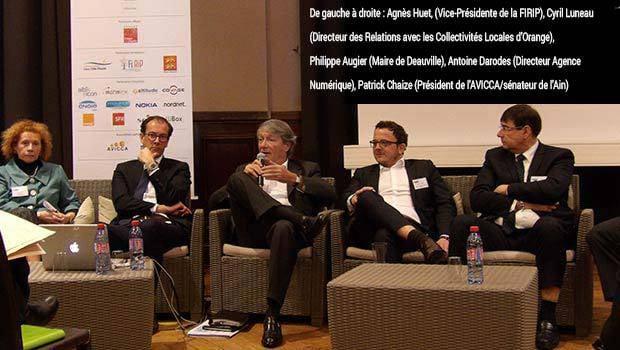 Agnès Huet, Cyril Luneau, Philippe Augier, Antoine Darodes, Patrick Chaize