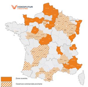Eligibilité la Fibre vidéofutur en France