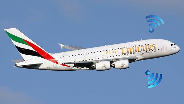 Emirates Wi-Fi gratuit, 1$ seulement les 600 Mo de consommation de data