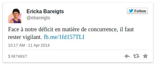 Ericka Bareigts s'inquiète des conséquences du rachat de SFR à La Réunion
