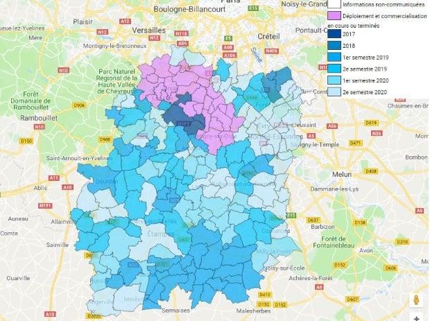 La fibre optique dans l'Essonne