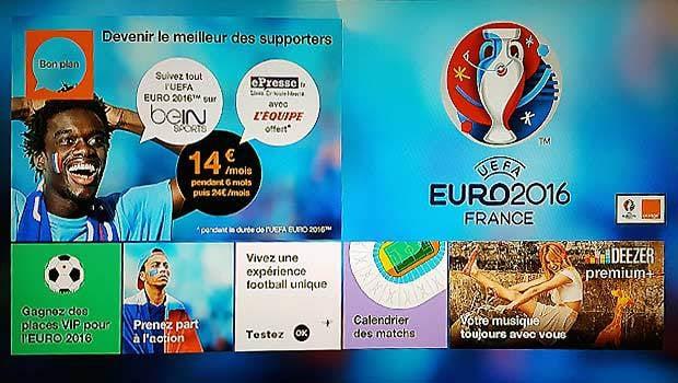 Orange, partenaire de l'Euro 2016