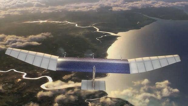 Facebook a également ses projets dans le solutions spatiales pour proposer Internet n'importe où dans le monde