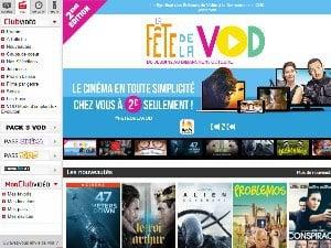 Fête de la VOD sur le vidéo club SFR