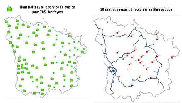 Le xDSL et la montée en débit au coeur des projets de la Nièvre