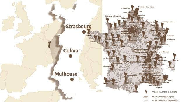 L'Est de la France très dynamiques sur le déploiement du THD
