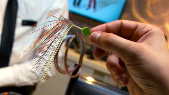 brins de fibre optique