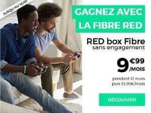 RED : la fibre à moins de 10 euros