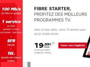Abonnement fibre SFR