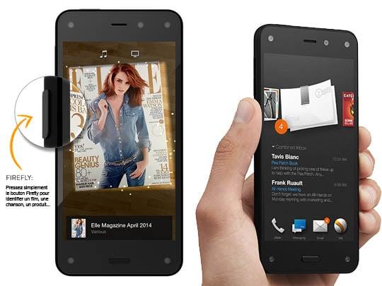 Amazon Fire Phone : fait pour une utilisation à une main