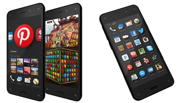 Amazon Fire Phone : sous Fire OS