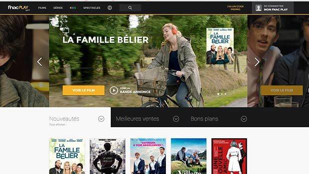 Films, documentaires, séries et films d'animations en location et achat