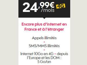 forfait 24.99 euros sosh