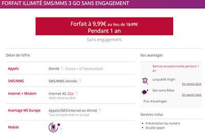 Super promotion chez Virgin Mobile