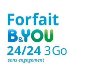 forfait b&you 3go
