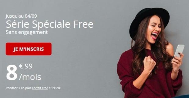 Promo mobile Free