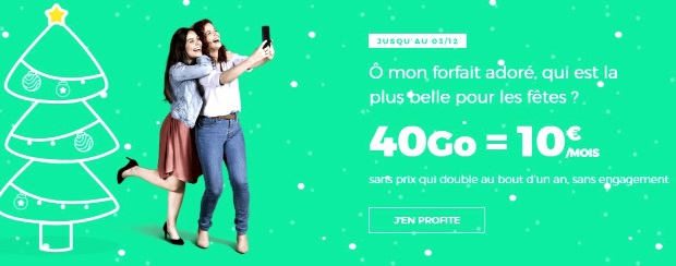 Forfait mobile RED à 10€/mois