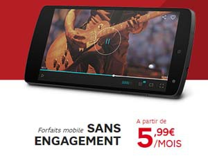 forfaits RED by SFR