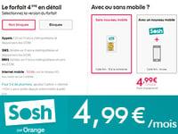 Sosh à 4,99€/mois