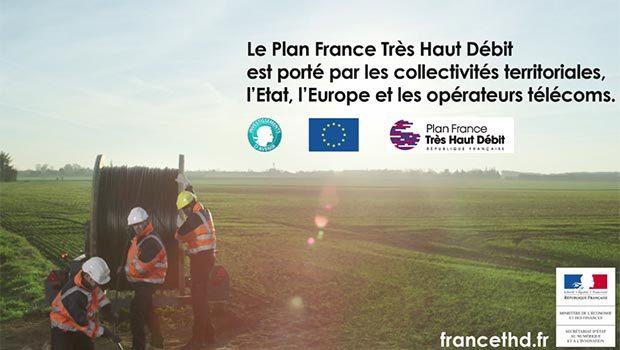 La fibre optique se déploie en France