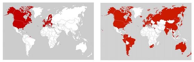 appels illimités inclus dans le monde depuis Free Mobile