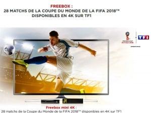 Coupe du monde : TF1 4K sur Freebox