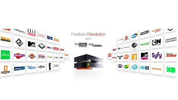 Free compte sur la TV by Canal