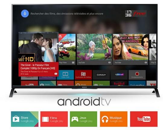 Android TV sur la Freebox Mini 4K