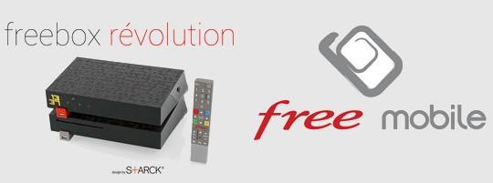 Freebox Révolution + Free Mobile