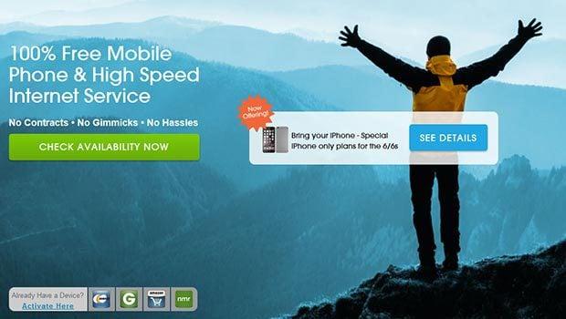 FreeedomPop propose également des smartphones abordables…