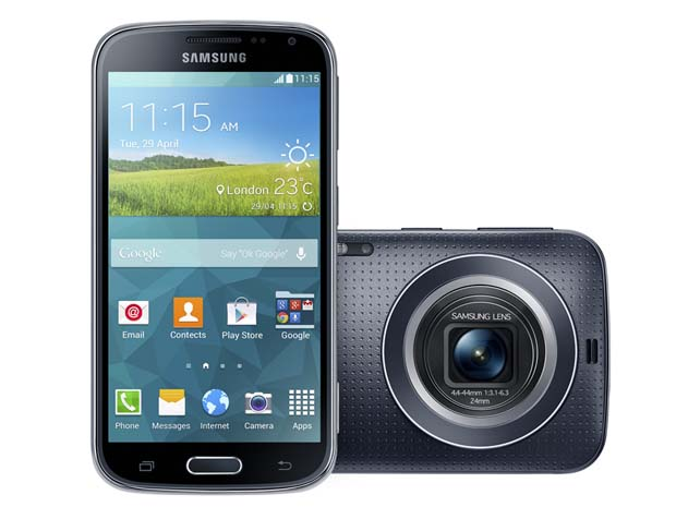 Samsung Galaxy K Zoom : smartphone Android et appareil photo compact