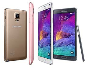 Samsung Galaxy Note 4: un écran QHD tactile de 5,7 pouces