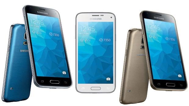 Samsung Galaxy S5 mini : 4 coloris au choix