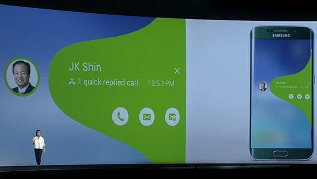 MWC 2015 Samsung : un nouvelle interface plus intuitive pour le Edge