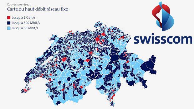 Les réseaux Internet fixe Swisscom