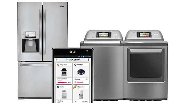 LG, Samsung et tous les grands constructeurs sont présents sur l'électroménager connecté