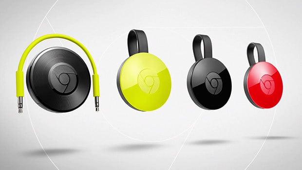 Chromecast audio avec prise jack et connectique WiFi
