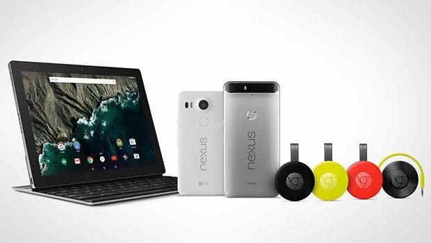 Deux smartphones, deux Chromecasts, une tablette…