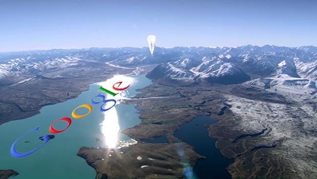 Project Google Loon, des ballons à 20 km d'altitude alimentés par énergie solaire
