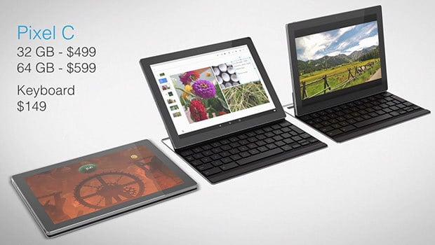 Tablette Pixel C, sous Android 6.0